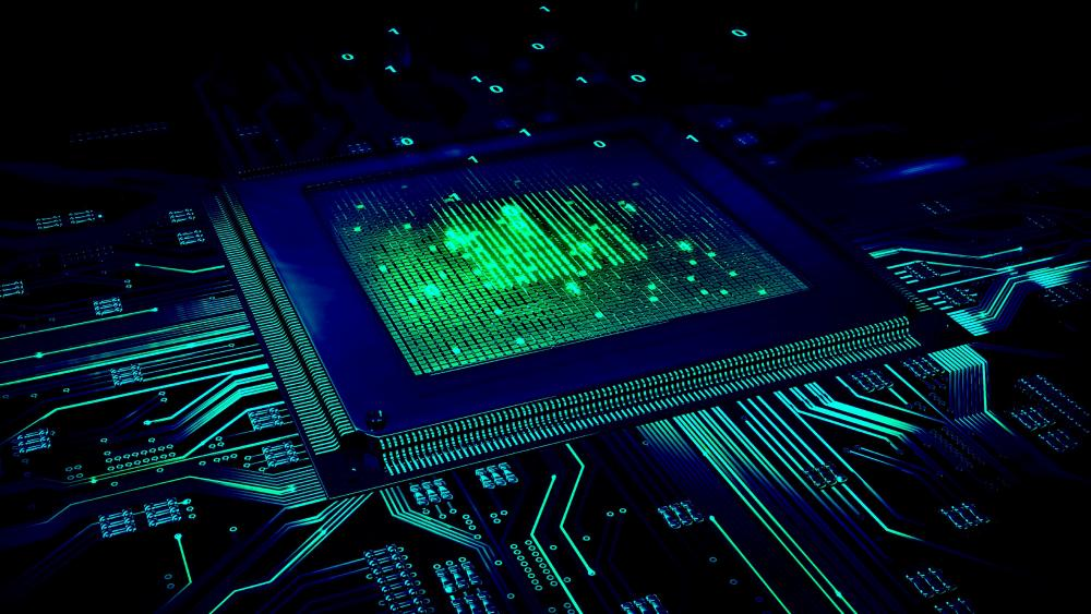 CPU Light wallpaper