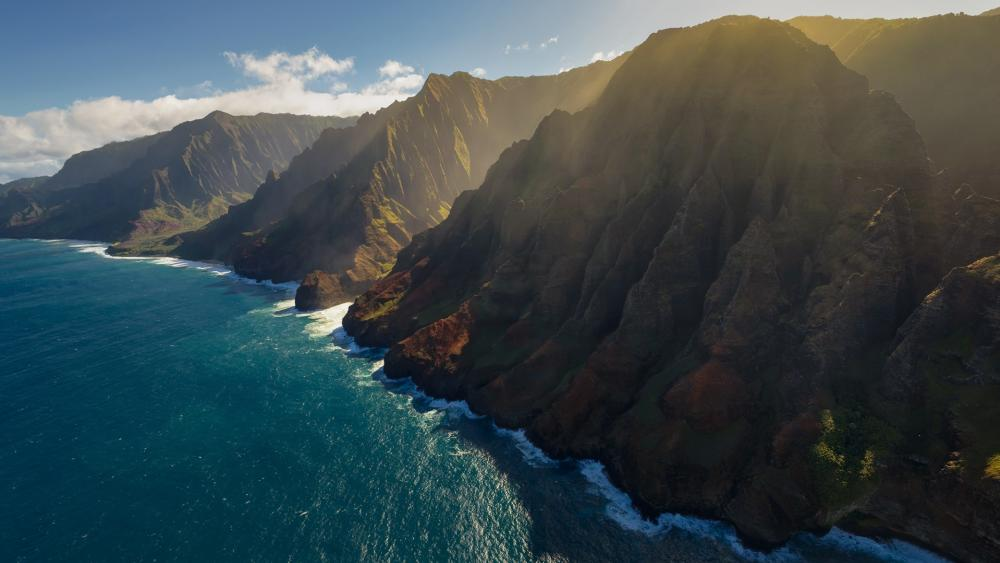Nā Pali Coast State Park (Hawaii) wallpaper