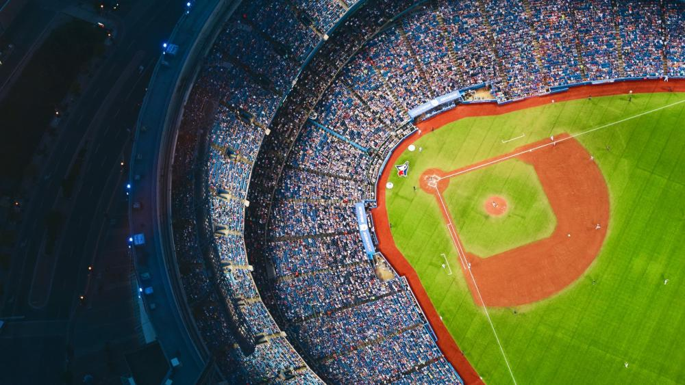 Baseball Ground wallpaper