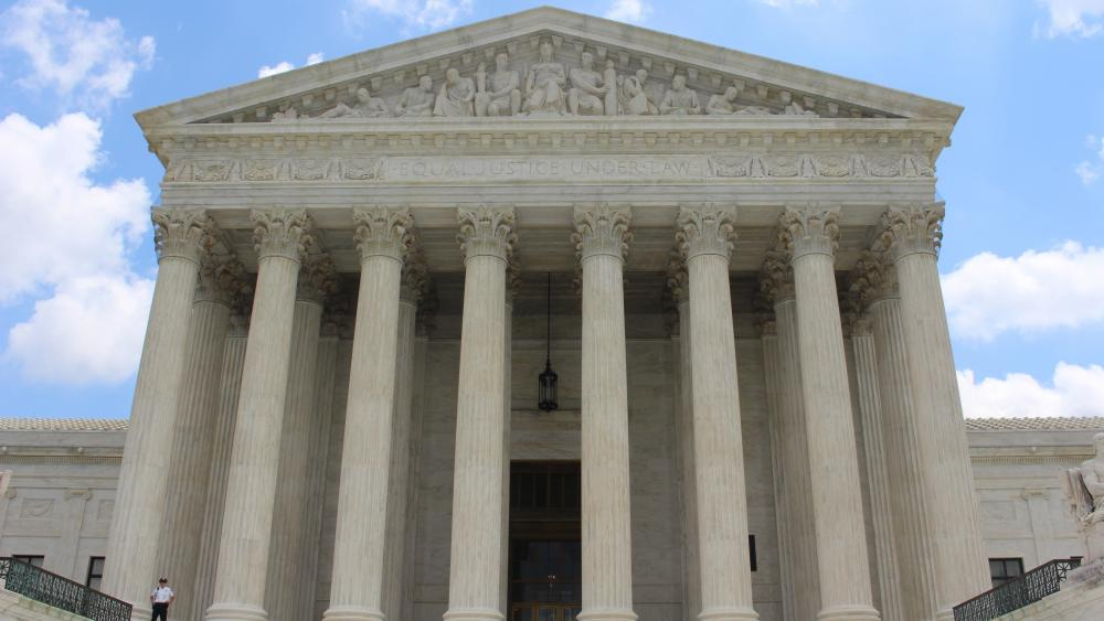 United States Supreme Court Building wallpaper