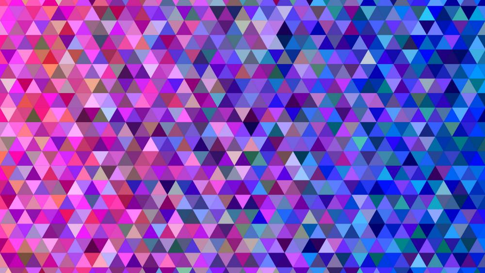 Triangle design wallpaper