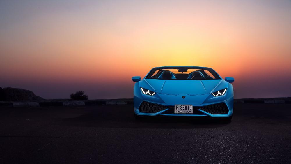 Lamborghini Huracan Spyder wallpaper