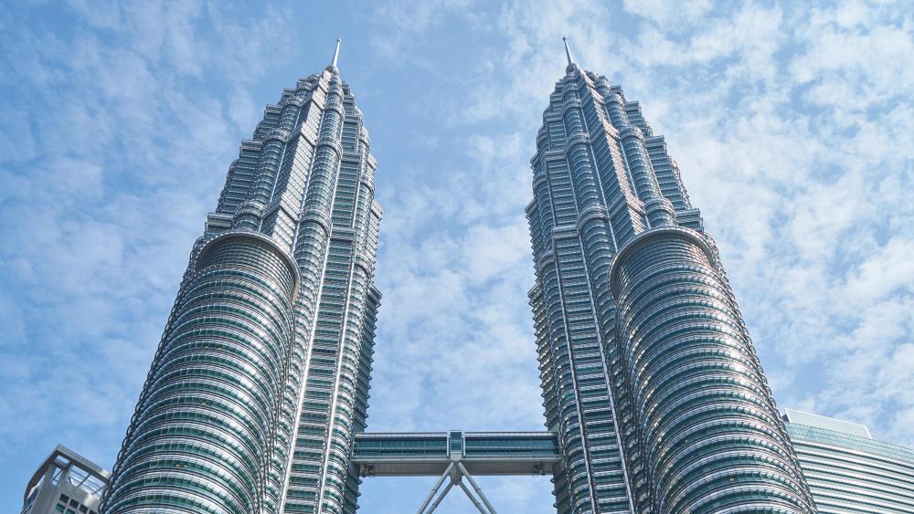 Petronas Towers Top Floors wallpaper