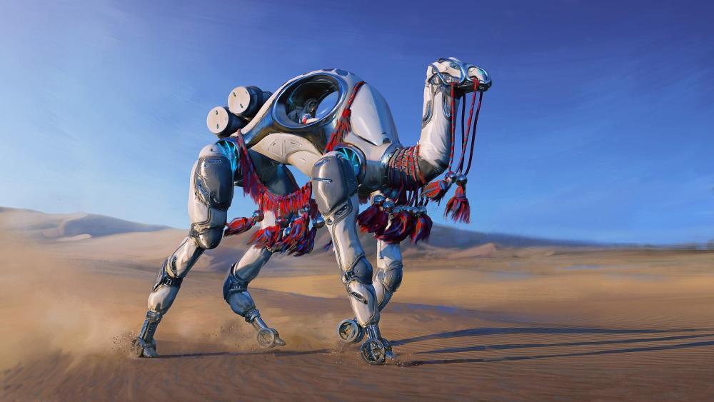 Mechanic Camel wallpaper