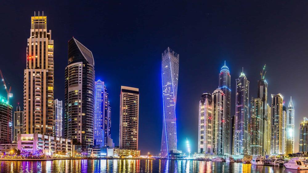 The city of Dubai wallpaper