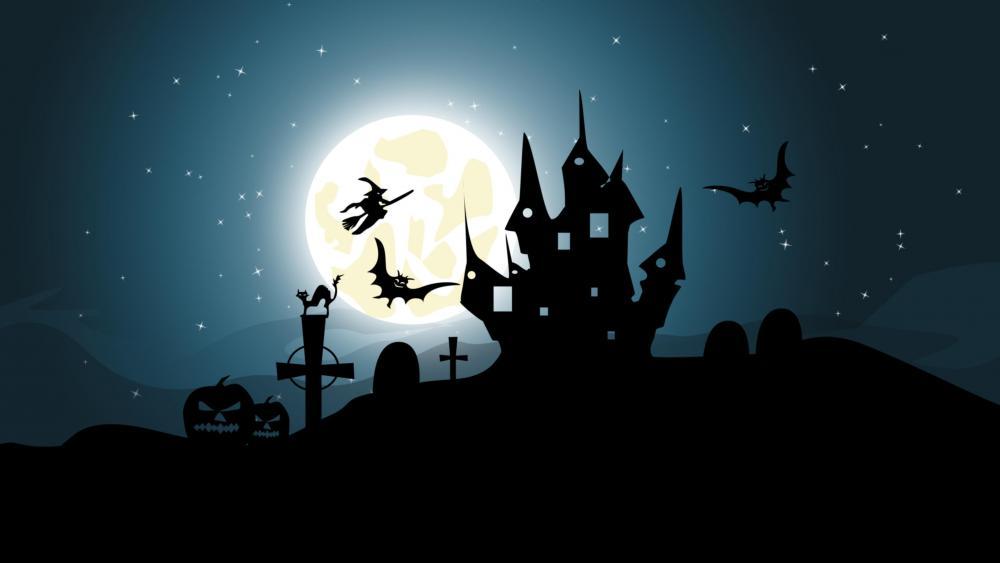 Halloween night 🎃 wallpaper
