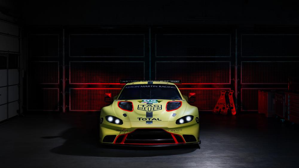 Aston Martin race car wallpaper