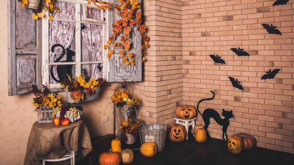 Halloween decoration wallpaper