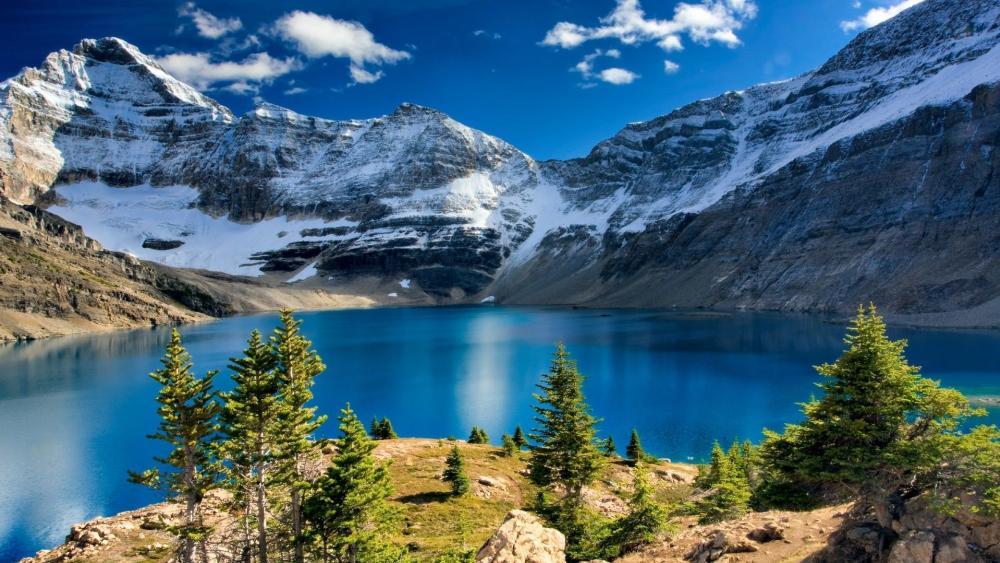Lake O'Hara (Yoho National Park, Canada) wallpaper