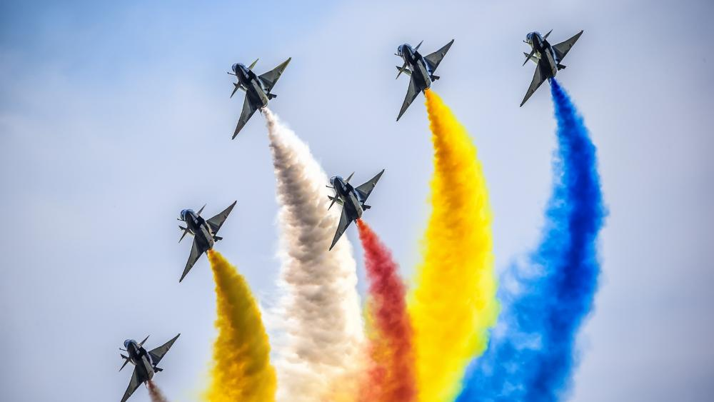 Airforce airshow wallpaper