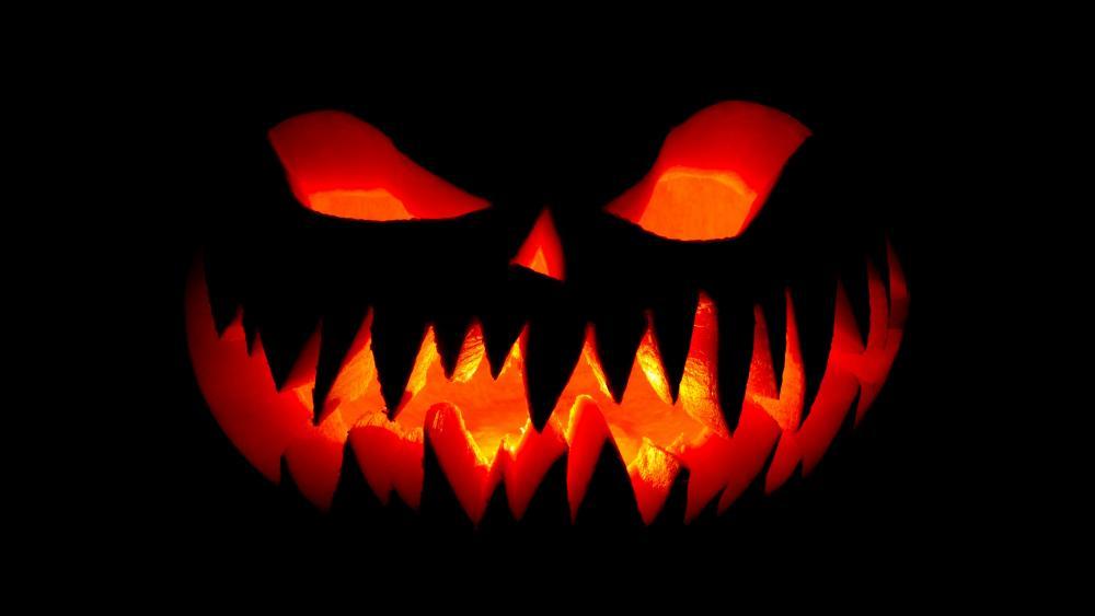 Spooky Halloween Jack O'lantern wallpaper