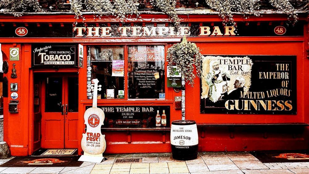 The Temple Bar (Dublin, Ireland) wallpaper