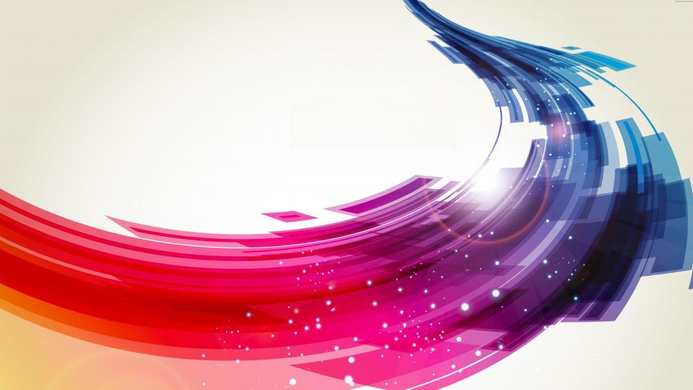Colorful way wallpaper