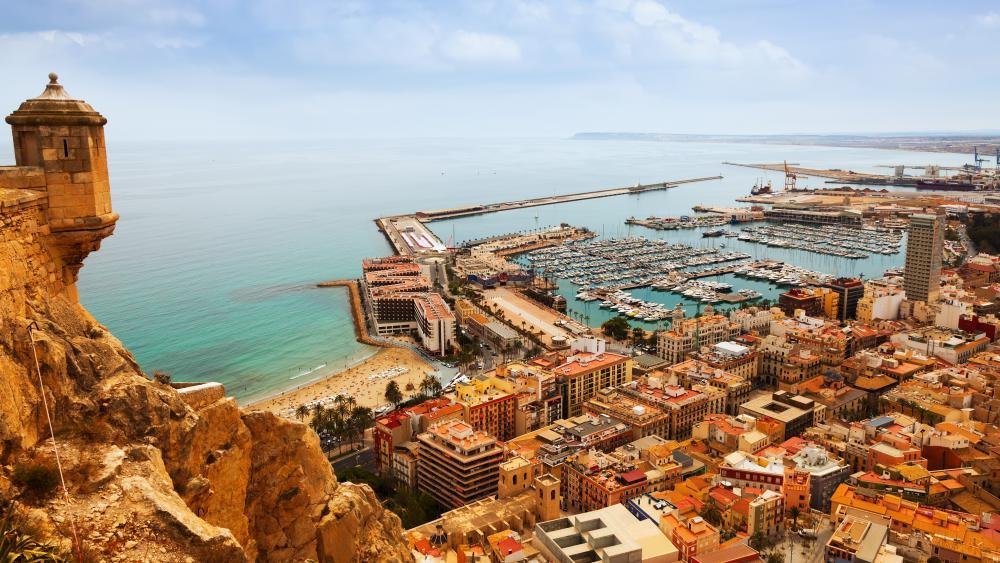 Port of Alicante wallpaper