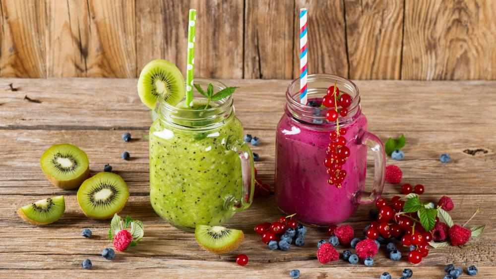 Smoothies wallpaper