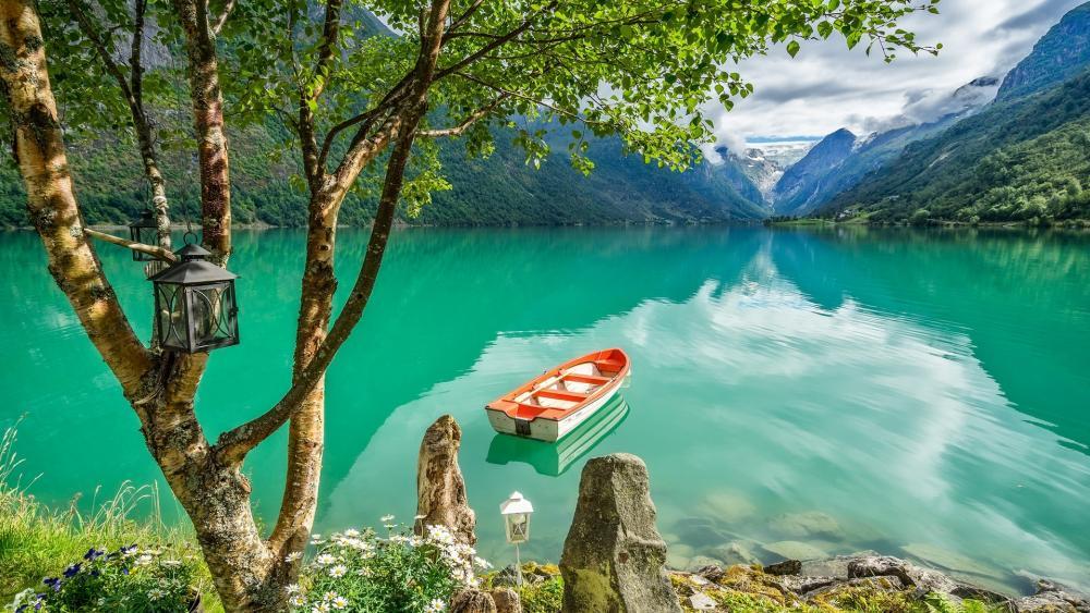 Lake Bohinj, Triglav National Park, Julian Alps wallpaper
