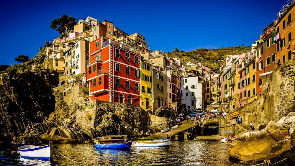Riomaggiore (Cinque Terre) wallpaper