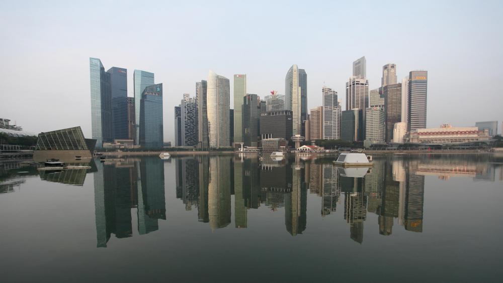 The Singapore Skyline wallpaper
