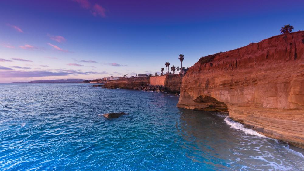 Sunset Cliffs, San Diego wallpaper
