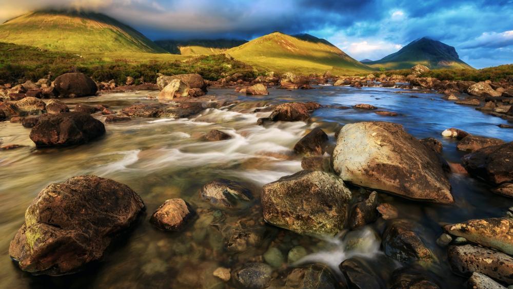 The Cuillin (Isle of Skye) wallpaper
