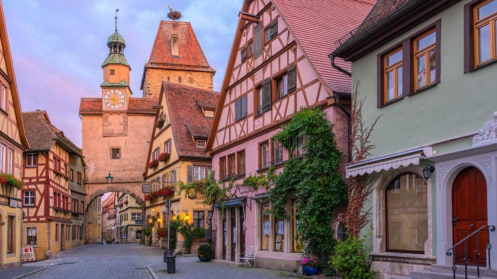 Rothenburg ob der Tauber wallpaper