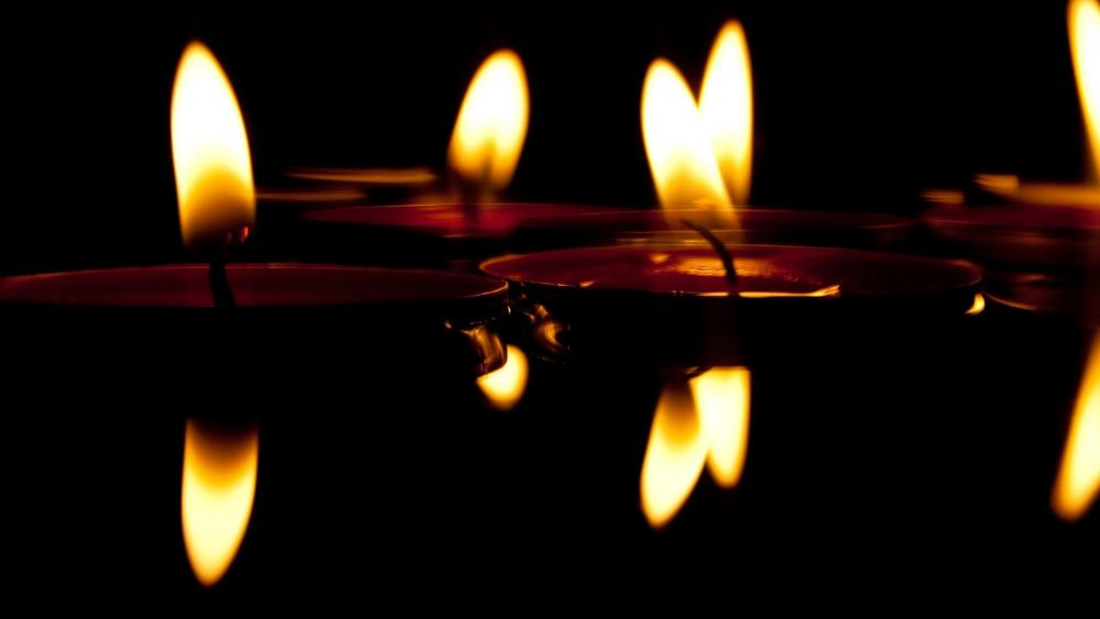 Floating Candles wallpaper