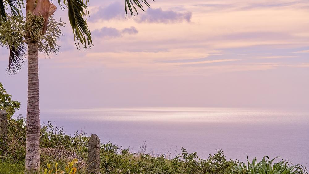 Sunset in Tobago wallpaper