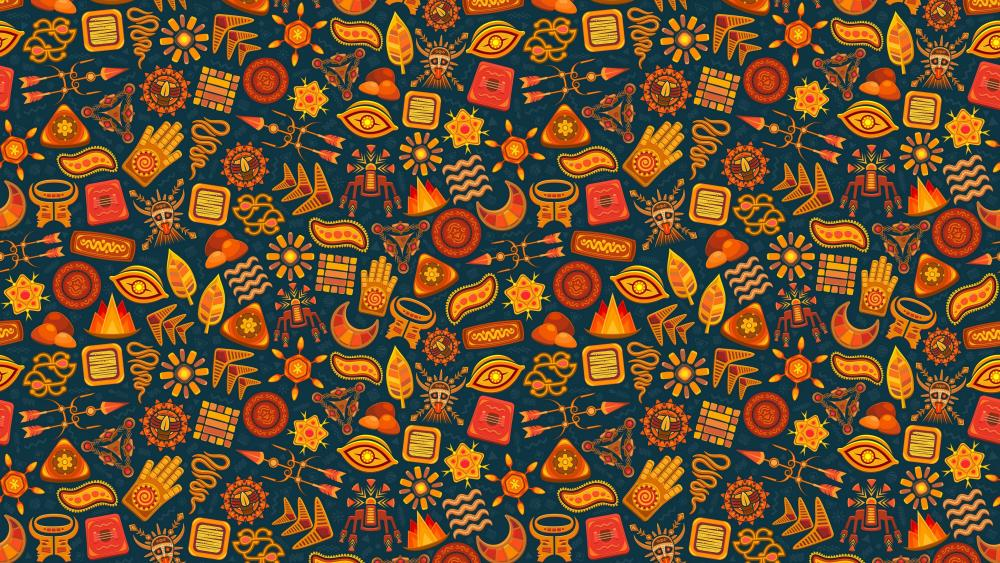Tribal Pattern wallpaper