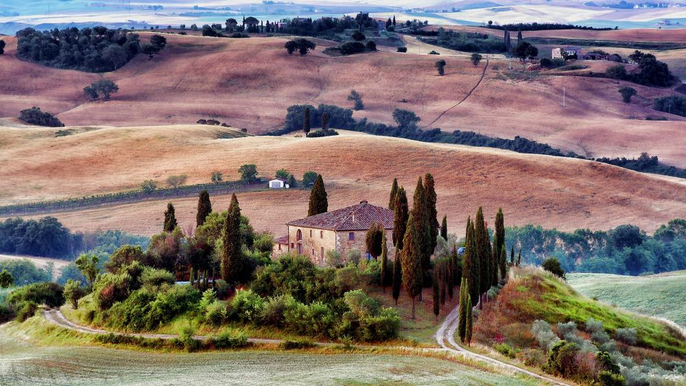 Tuscany Scenery wallpaper