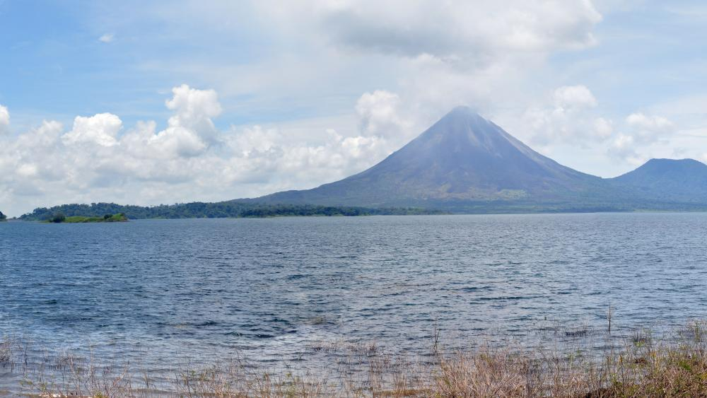 Arenal Volcano from Lake Arenal wallpaper
