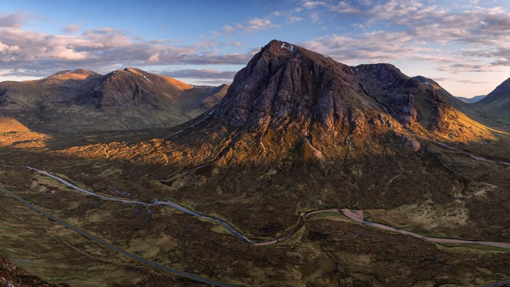 Glencoe landscape wallpaper