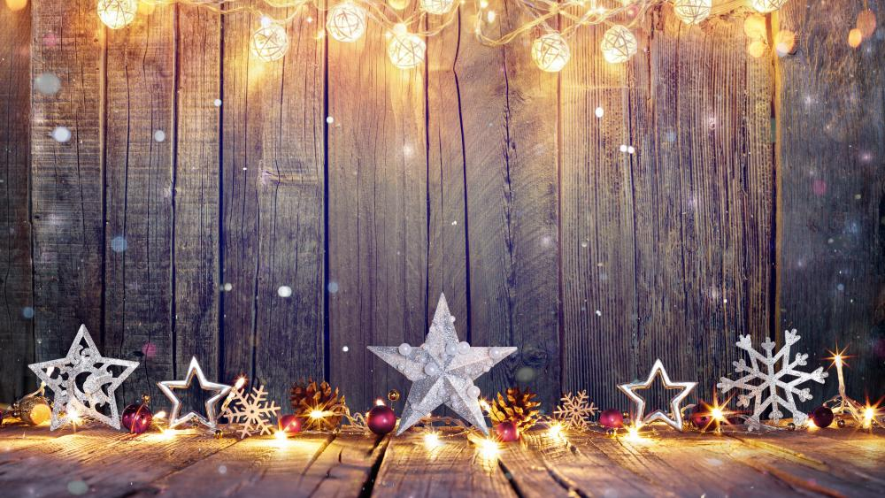 Christmas decoration wallpaper