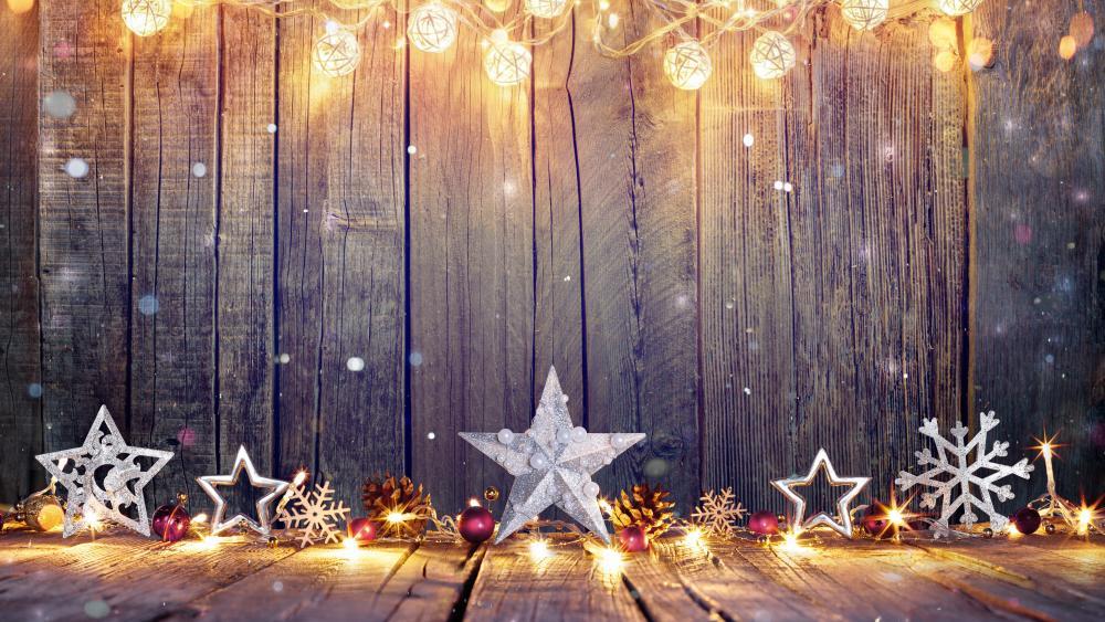 Christmas decoration wallpaper