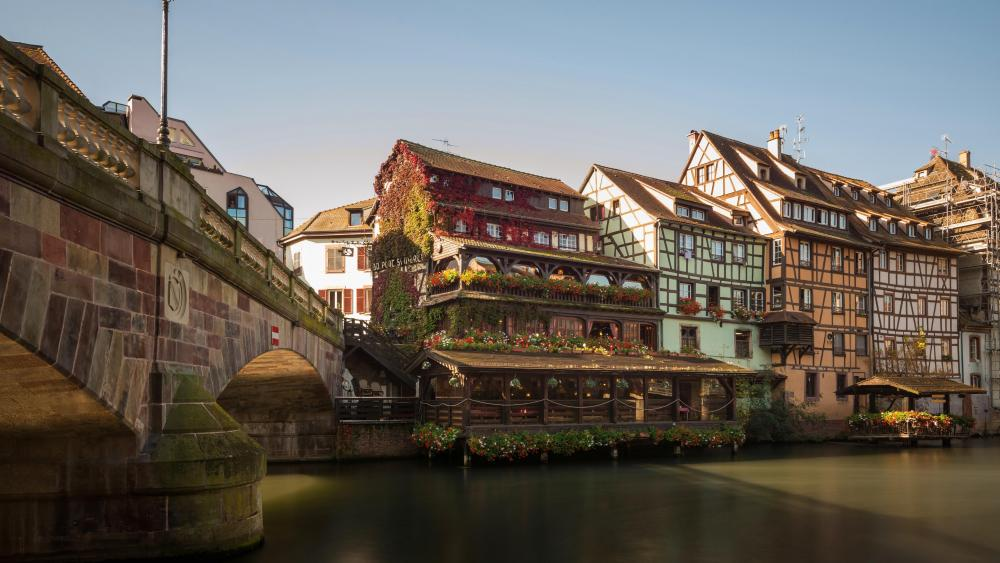 Half-timbered Houses of Strasbourg wallpaper