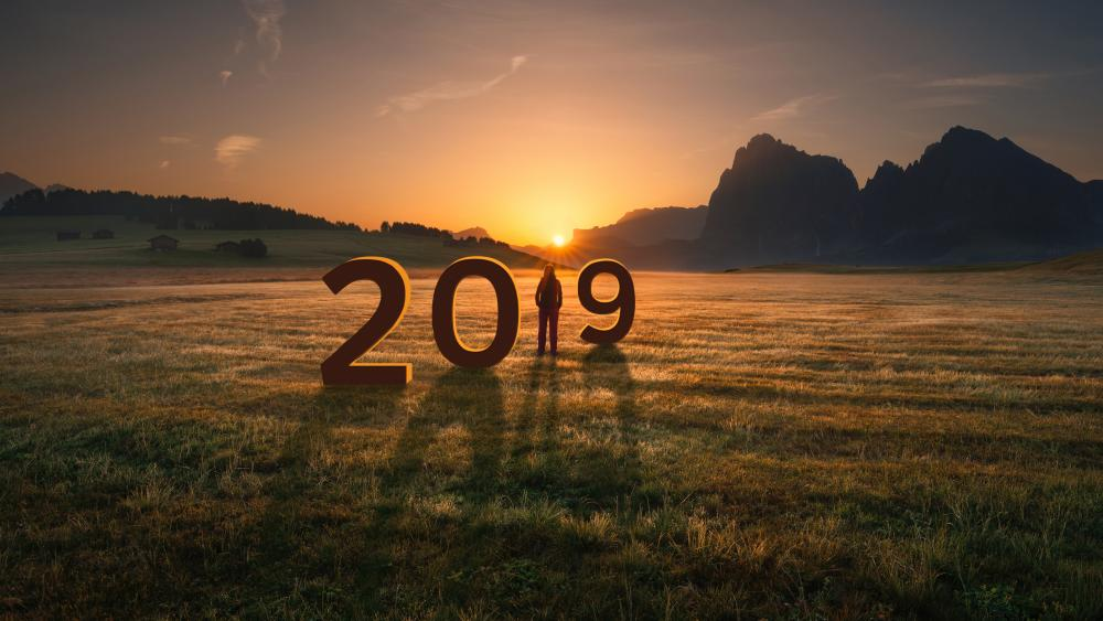 2019 in the Dolomites wallpaper
