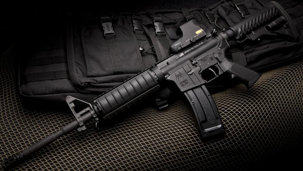 M4 assault rifle wallpaper