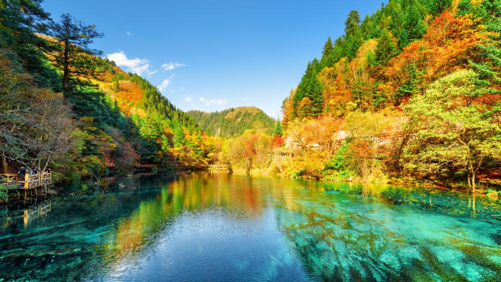 Jiuzhaigou National Park (China) wallpaper