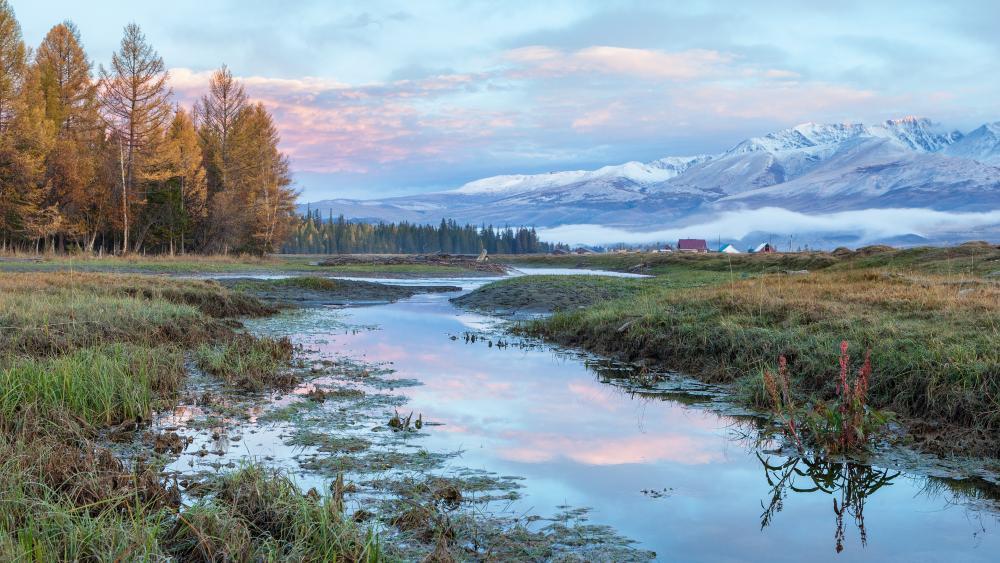 Altai Mountains (Siberia) wallpaper