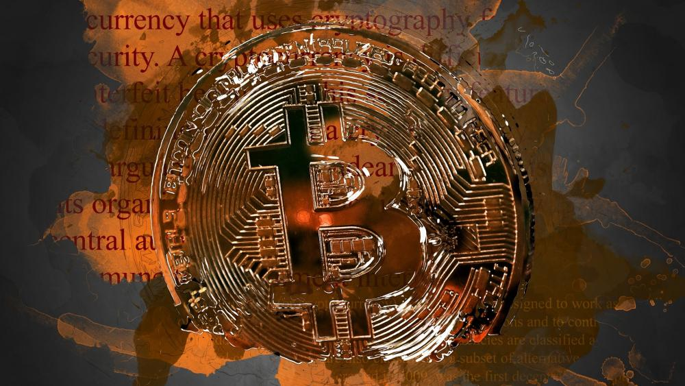 Bitcoin Cryptocurrency wallpaper