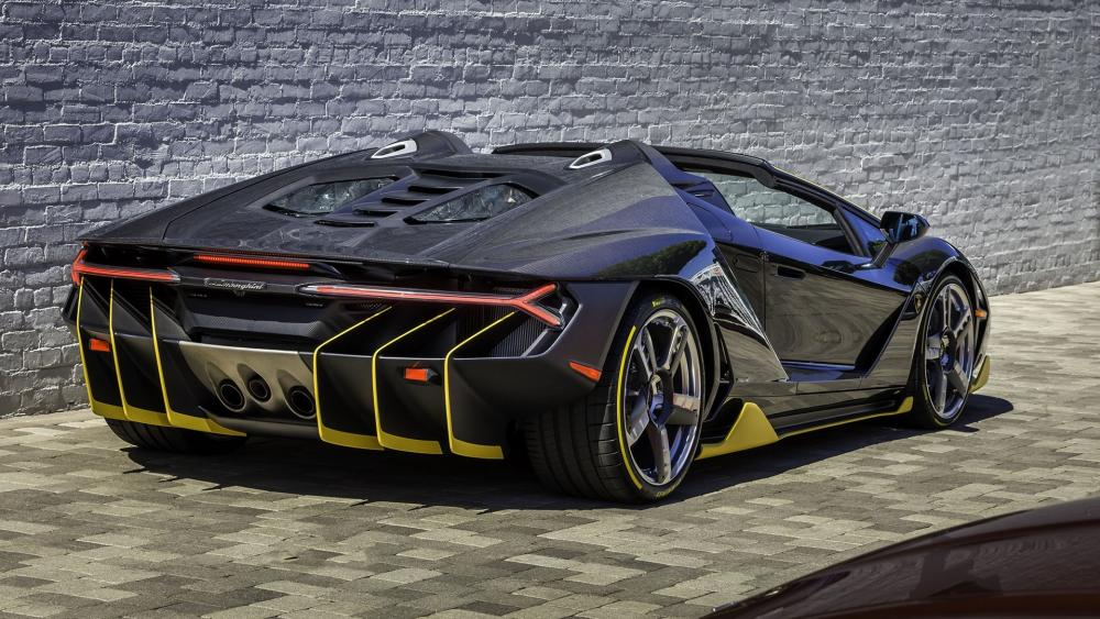 Lamborghini Centenarió Roadster wallpaper