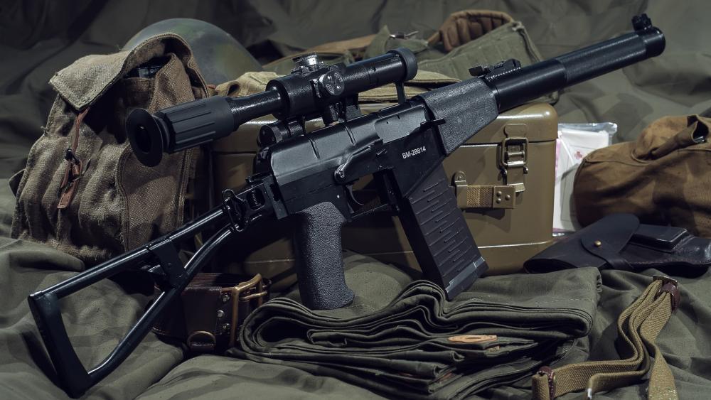 AS Val Assault rifle wallpaper