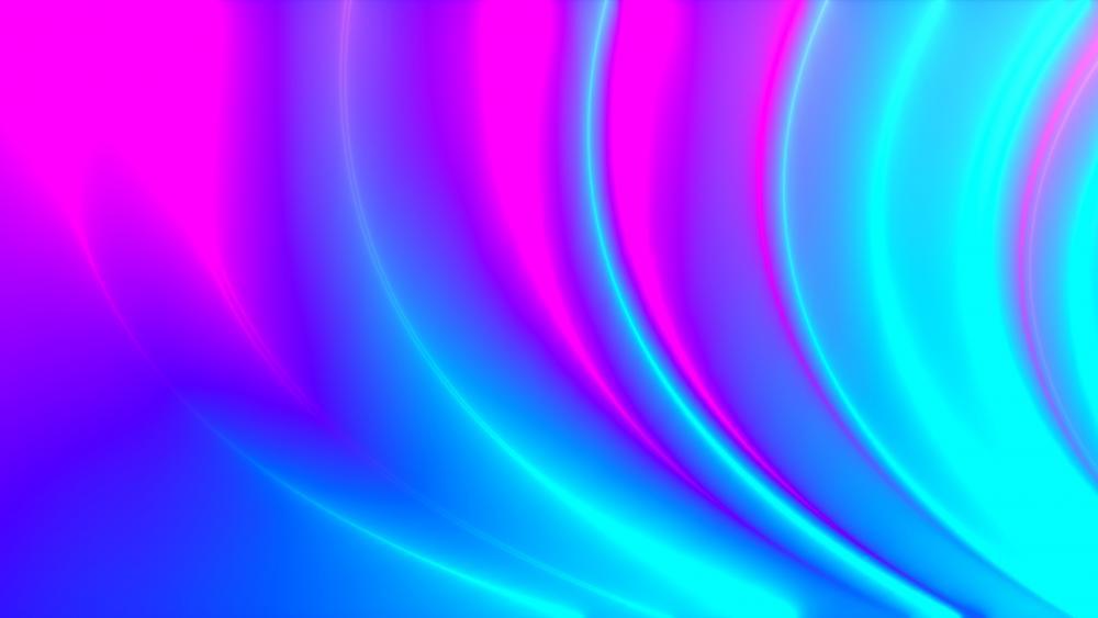 Neon plasma wallpaper