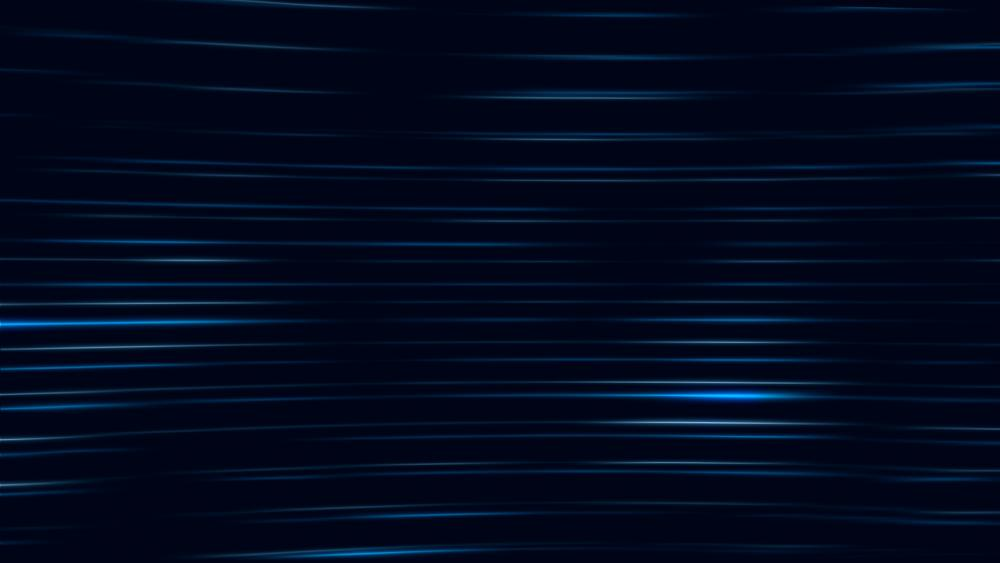 Glowing blue arched lines wallpaper