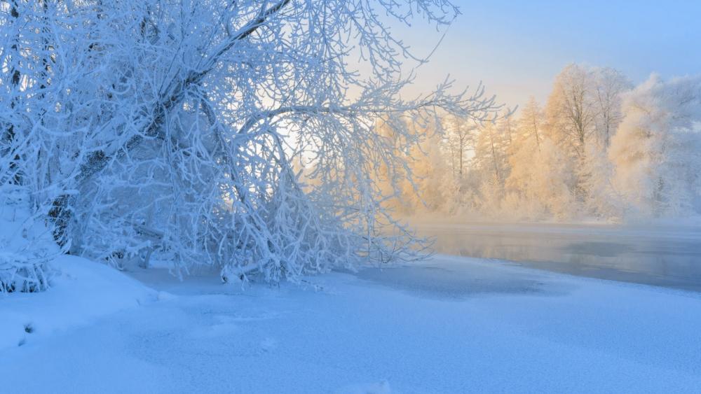 Russian winter wallpaper