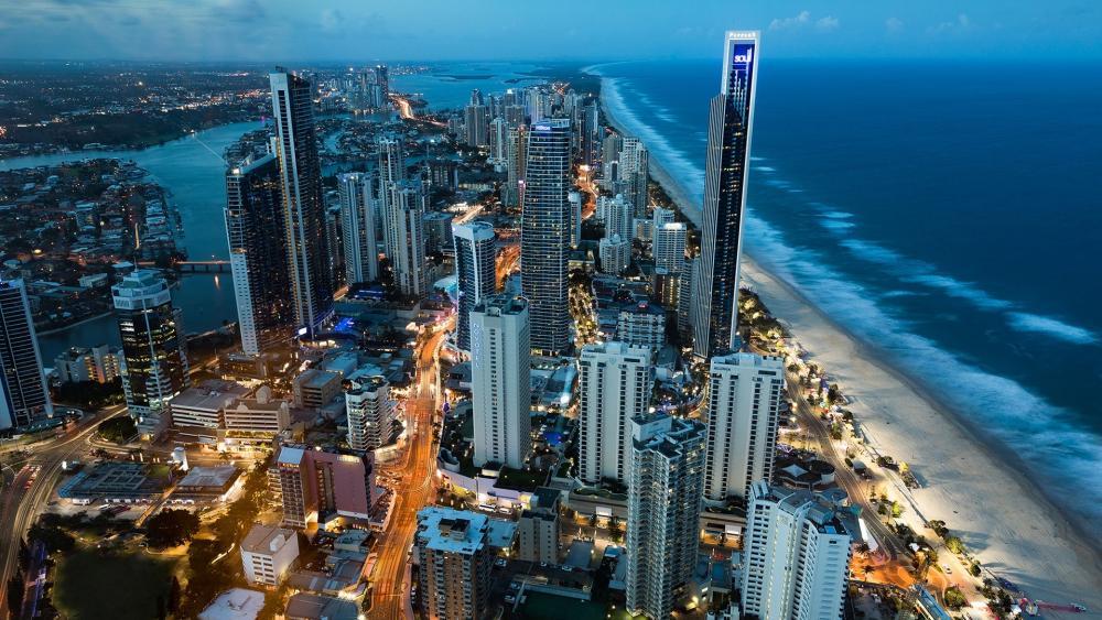 Gold Coast in Queensland, Australia wallpaper