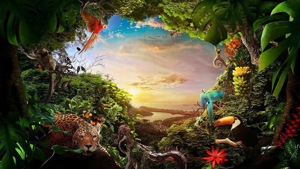 Nature of Brazil wallpaper