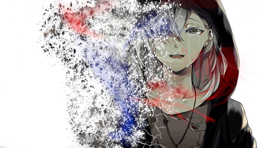 Anime Disintegration wallpaper