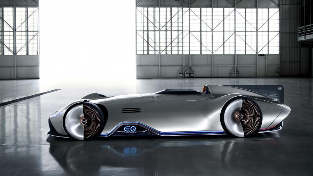 Mercedes-Benz Vision EQ Silver Arrow wallpaper