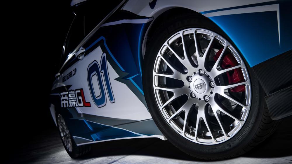 Emgrand GL tire wallpaper