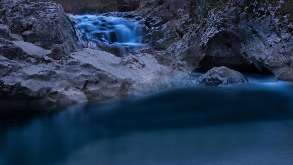 Waterfall in Istria wallpaper